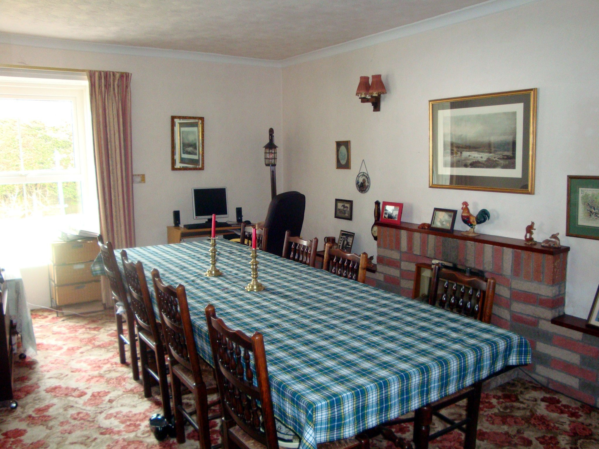 the old manse diningroom