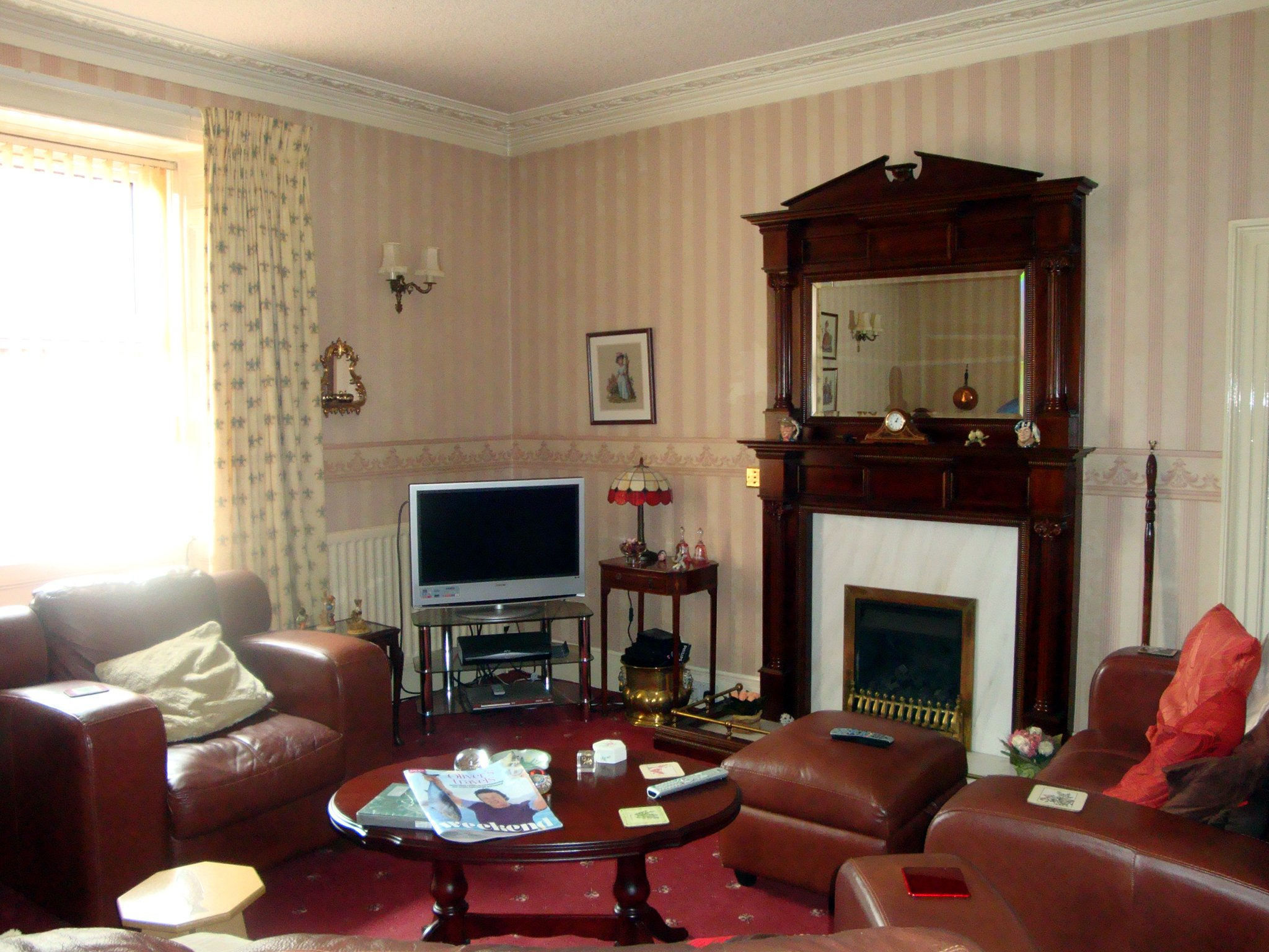 the old manse livingroom 1