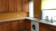 Fitted kitchen in pine